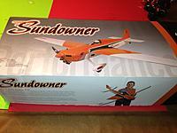 Name: Sundowner.jpg Views: 101 Size: 156.4 KB Description: Hangar 9 Sundowner 50