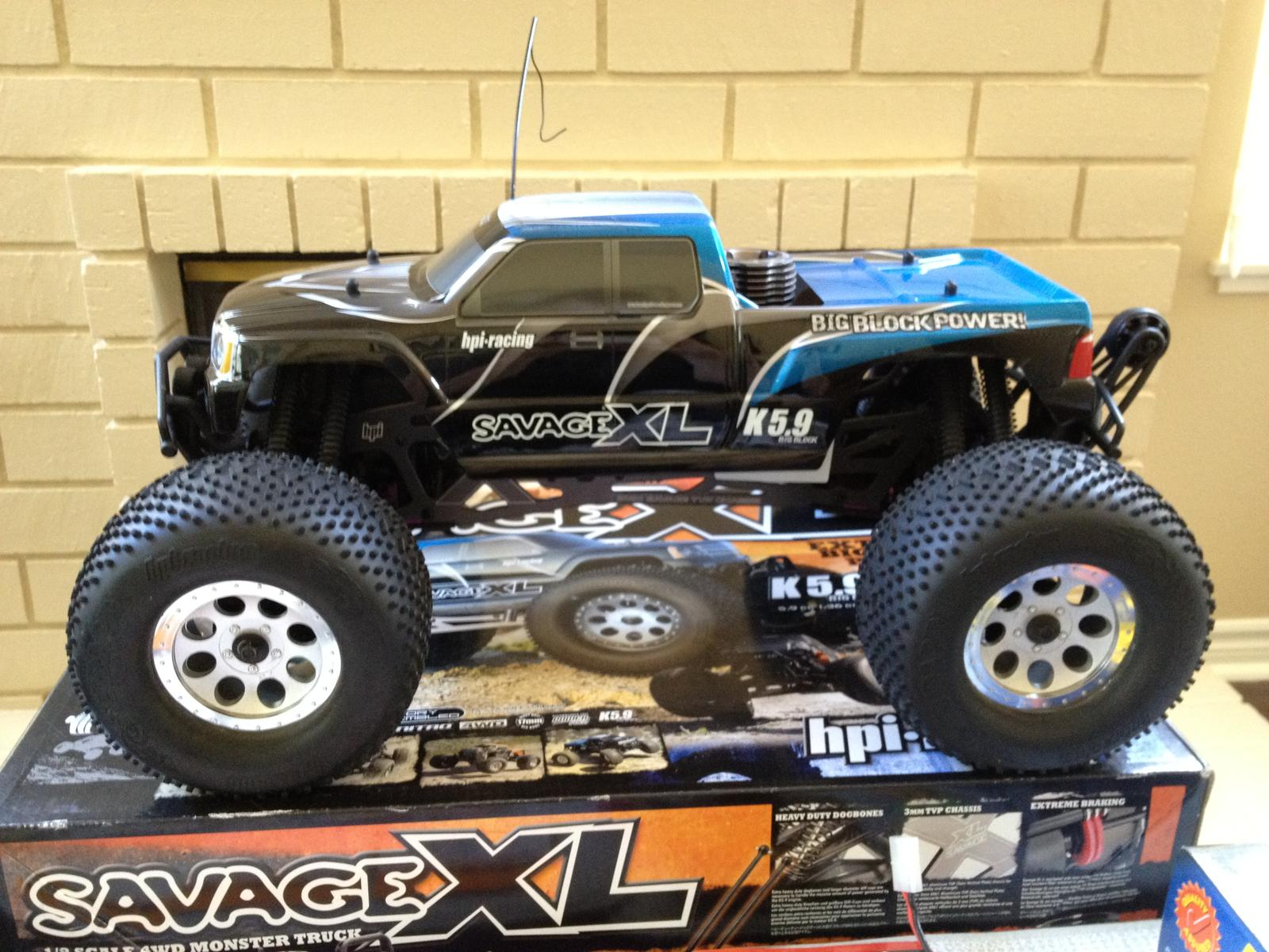 FS or Trade LPU 1 8 HPI Savage XL 5 9 GT 4WD Nitro 2 4GHz RTR & LOTS OF EXTRAS RC Groups