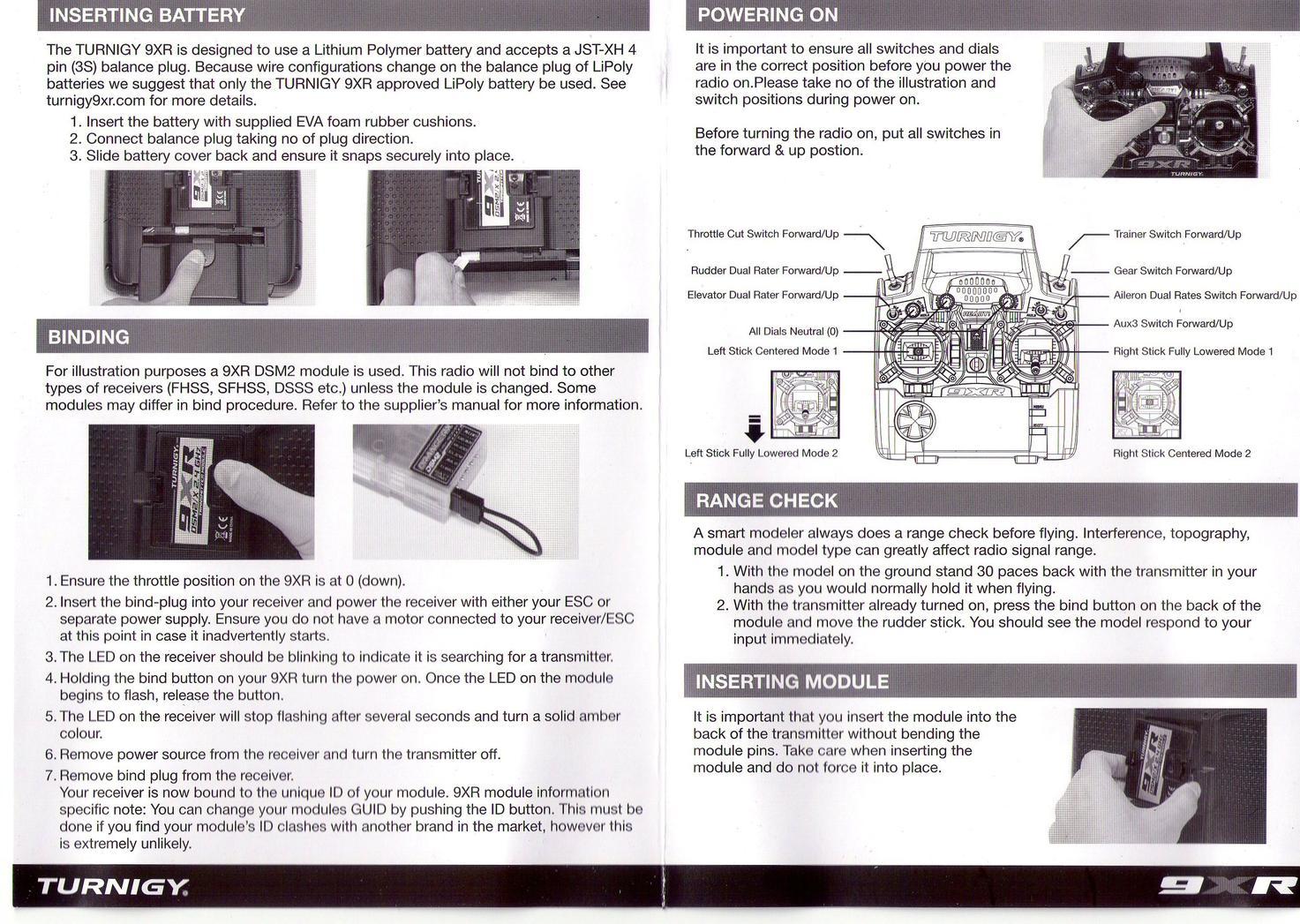 9xr pro manual.