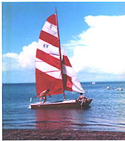 Name: John & Colin.jpg Views: 80 Size: 106.1 KB Description: Thats me on the bow, think i was about 19 ? it was a long time ago !!!