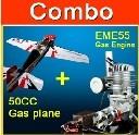 Name: sdshobby rc planes.jpg Views: 1350 Size: 9.6 KB Description: sdshobby rc planes Combo Yak 55 74.8in 30-35cc gas plane Yellow +MLD35 gas engine (AG327-B & MLD35)