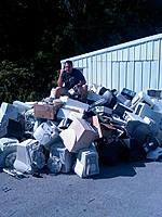 Name: computertrash.jpg Views: 67 Size: 75.4 KB Description: here I am on top of just a portion of this years load.