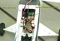 Flight control board .  Ele / Rud servos were connected into the wrong slots .
