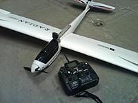 Name: DSC00184.jpg Views: 128 Size: 214.6 KB Description: Parkzone radian, Airtonics 8 Ch radio