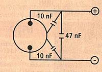 Name: MotorCapacitorsDiagram.jpg Views: 49 Size: 17.7 KB Description: Motor RF suppression