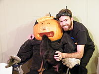 Name: DSCF9233.jpg Views: 112 Size: 120.2 KB Description: My dog got hungry... he likes pumpkin! OH NO!!!