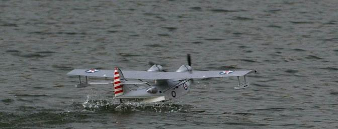 Once the PBY is on step, you are good to go.