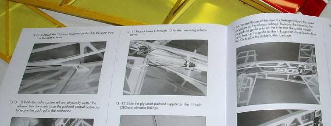 Excellent illustrations in the manual speed the assembly right along.