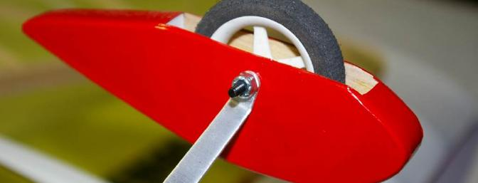 The included wheel pants attach easily and are a nice touch.