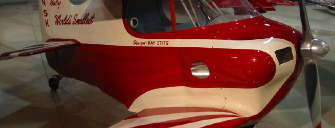 The real deal, the Stits Sky Baby. Since 1963, it has been in the EAA AirVenture Museum.