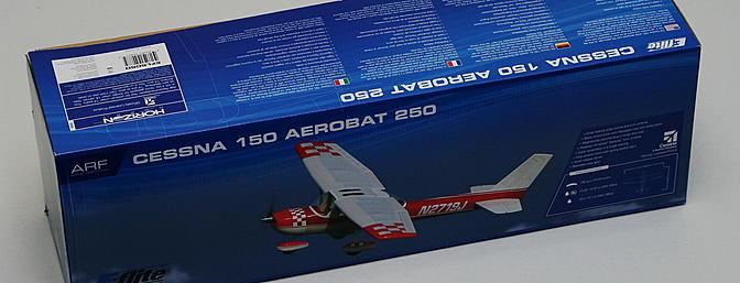 Article Horizon Hobby E-flite Cessna 150 Aerobat 250 ARF
