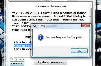 I always breathe a small sigh of relief when my firmware writing is complete.