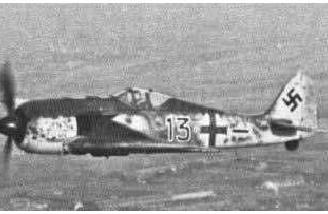 And his FW190, quite possibly the basis for the Kyosho FW190