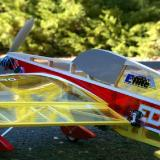 Notice the tight fit of the wing to the fuselage. E-flite must have addressed the previous complaints and tightened their quality control.