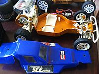 Name: iphonr 002.jpg Views: 131 Size: 240.7 KB Description: blue body is a little worn but nothing major, original wing still unpaited.  I have the motor covers (2) both Cadillac and Edinger styles