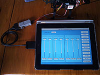 Name: ipad2.jpg Views: 194 Size: 76.7 KB Description: My Ipad connected with cable and convertor to Tarot XYZ on 250