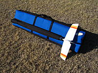 Name: Blue V Tail Glider Bag.JPG