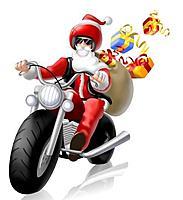 Name: Santa_Bike.jpg Views: 77 Size: 19.0 KB Description: Santa Clark has become Santa Bike :)