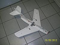 Name: MIG15-TOP.jpg Views: 433 Size: 126.0 KB Description: 3rd try. Notice enlarged horisontal stab. (& bamboo stiffner in tail)