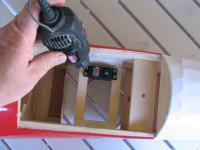 Name: IMG_4667.jpg Views: 150 Size: 48.3 KB Description: I like to pre-drill the holes so the screw fits better