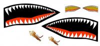 Name: TigerShark1.JPG Views: 10206 Size: 49.9 KB Description: P-40 Warhawk Tiger Shark nose art.