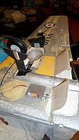 Name: Vampire Landing gear and flaps open1 (1).jpg Views: 127 Size: 98.2 KB Description: