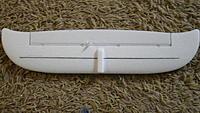 Name: SAM_0409.jpg Views: 259 Size: 149.1 KB Description: carbon spar in tail 0.5mmx10mm obe piece fed thru middle ridge.
