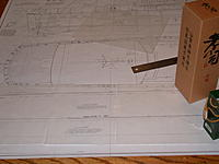 Name: DSCN4601.jpg Views: 135 Size: 138.9 KB Description: Tracing for two side sheets and to bottom sheets.