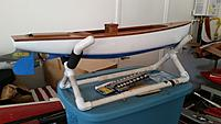 Name: 20190513_160920.jpg Views: 14 Size: 800.3 KB Description: The launch is about 36 inches long from stem to stern