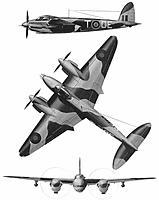 Name: de Havilland DH.98 Mosquito VI [LIMITED to 500px].jpg Views: 273 Size: 20.8 KB Description: