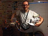 Name: 3d fpv cam Quad.jpg Views: 1262 Size: 164.2 KB Description: Proud of that Hat Station