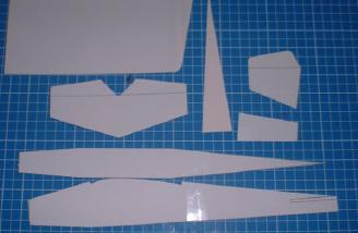 The templates used to make the model