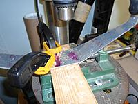 Name: 04.jpg Views: 62 Size: 106.9 KB Description: Always challenging clamping landing gear to drill press, clean hole