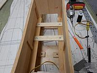 Name: 20.jpg Views: 64 Size: 95.2 KB Description: First install ply servo rails, I like screws so I can remove them if need be. (sometimes hard to get to landing gear platform or slide a battery around under them)