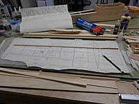 Name: 93.jpg Views: 64 Size: 101.6 KB Description: Plans laid out to frame up port wing