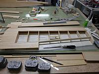 Name: 02.jpg Views: 72 Size: 112.4 KB Description: Almost finished wing flat on bench, starting to like the look of things