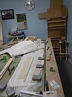 Name: Image00017.jpg Views: 62 Size: 154.5 KB Description: Ailerons are built up from die cut pieces, sheeting weighted down to plans