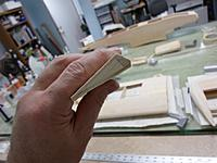 Name: Image00038.jpg Views: 63 Size: 135.2 KB Description: End view of aileron beveled to correct  and workable contour