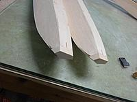 Name: Image00003.jpg Views: 71 Size: 137.9 KB Description: Rough shaping of the nose block, a little filling required