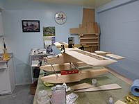 Name: Image00018.jpg Views: 81 Size: 138.1 KB Description: Front gear wrapped in correct position, wings at positive 1 ½ degrees, float at 0
