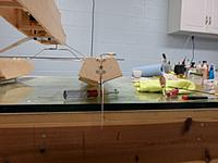 Name: Image00019.jpg Views: 71 Size: 125.5 KB Description: Water rudder assembled and attached to transom of right float