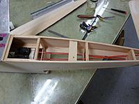 Name: Image00025.jpg Views: 64 Size: 156.2 KB Description: Plywood rudder pushrod support