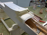 Name: SAM_0490.jpg Views: 59 Size: 62.5 KB Description: I applied masking tape to protect surface of fuselage and retraced windscreen finish line
