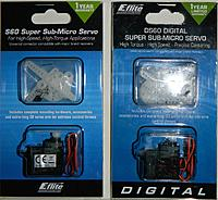 Name: E-Flite Servos.jpg Views: 91 Size: 230.3 KB Description: Here are two types of servos, I used the digital in the FPV model.