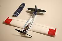 Name: F4U.jpg Views: 124 Size: 89.1 KB Description: My Corsair modified with a brushless motor, T-28 wing, carbon fiber tail pieces, and a fiberglass over the wing and parts of the fuselage.