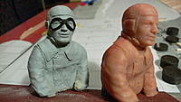 Name: P1110222.jpg Views: 152 Size: 154.1 KB Description: 1/8th scale casting (and original from sculpey) I did for the Rake Stahlwerk I'm building.  Will look better with paint.  Turned out to be 4.5 grams.