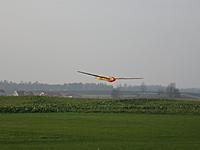 "Name: Landning Bergfalke II - Boglanda Airport -5 November 2011.jpg Views: 300 Size: 223.2 KB Description: One of my models Bergfalke II ""Mu 13e"" 1:4 scale"