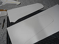 Name: DSC02270.jpg Views: 76 Size: 98.2 KB Description: First trace cut out and used as a template for the second trace.
