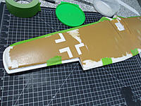 Name: DSC02276.jpg Views: 78 Size: 181.8 KB Description: Test fitting. Note wing tip and trailing edge extensions.