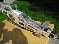 Name: Pioneer Frame done Tail wheel added 002.jpg